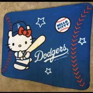 *Limited Edition* Dodgers Hello Kitty Blanket
